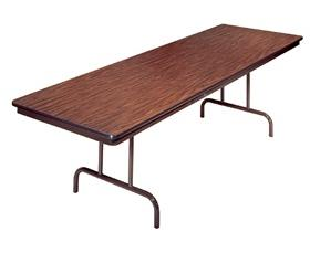 PEDESTAL FOLDING TABLE