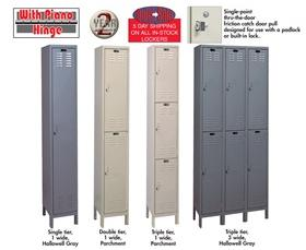 VALUEMAX™ LOCKERS - 1-WIDE UNITS