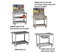 ALL-WELDED MOBILE WORKSTATIONS